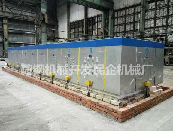 Electric heating galvanizing furnace
