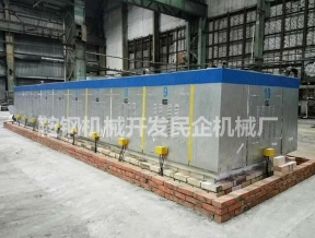 Electric heating zinc boiler